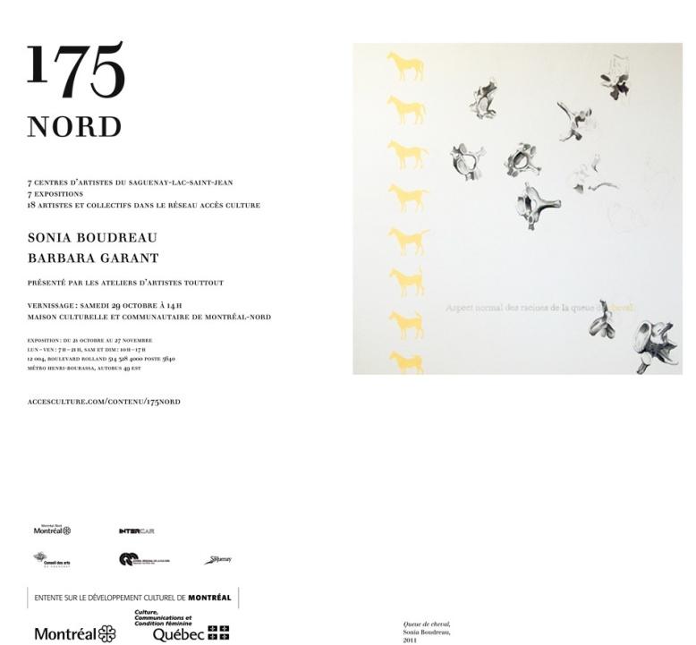 Invitation exposition 175 nord
